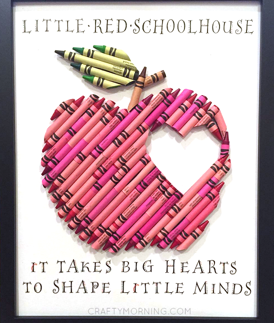 cute-apple-crayon-teacher-gift-idea-from-kids