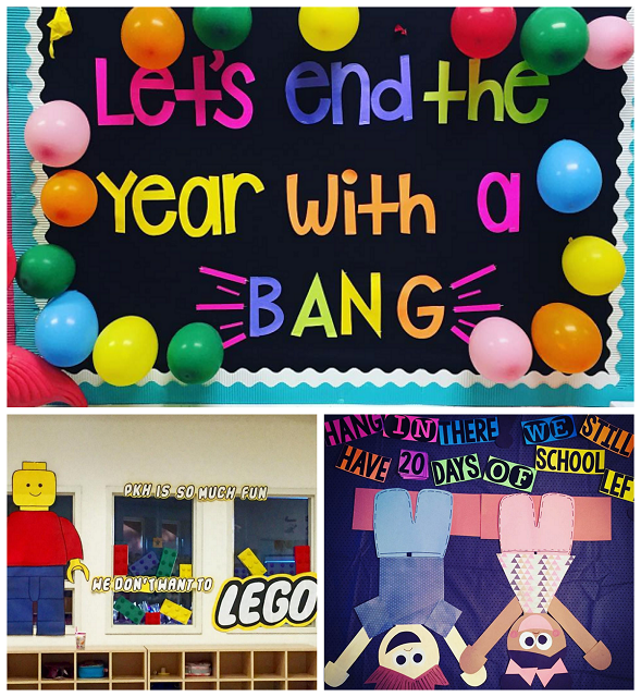 End Of The Year Classroom Bulletin Board Ideas Crafty Morning