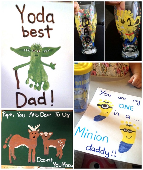 footprint-fathers-day-kids-crafts-gifts