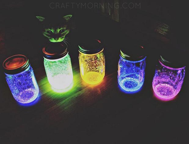 Crafts Using Glow Sticks