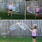How to Make Giant Bubbles (Recipe + Hack)