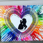 Amazing Melted Crayon Art Canvas