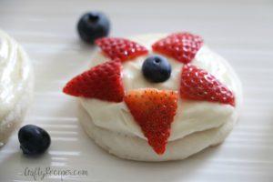 Mini Sugar Cookie Fruit Pizzas