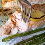 One Pan Lemon Salmon & Asparagus Recipe