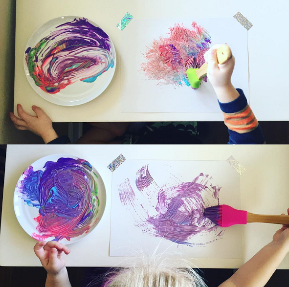 pastry-brush-painting-kids-activity-summer
