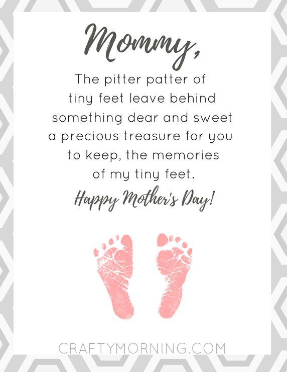 9 Free Mother S Day Printables Poems Crafty Morning