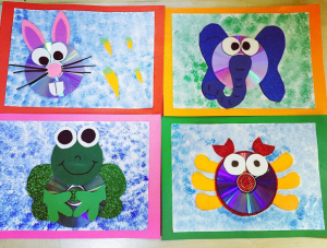 CD Animal Crafts for Kids