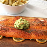Cedar Plank Lemon Salmon Recipe