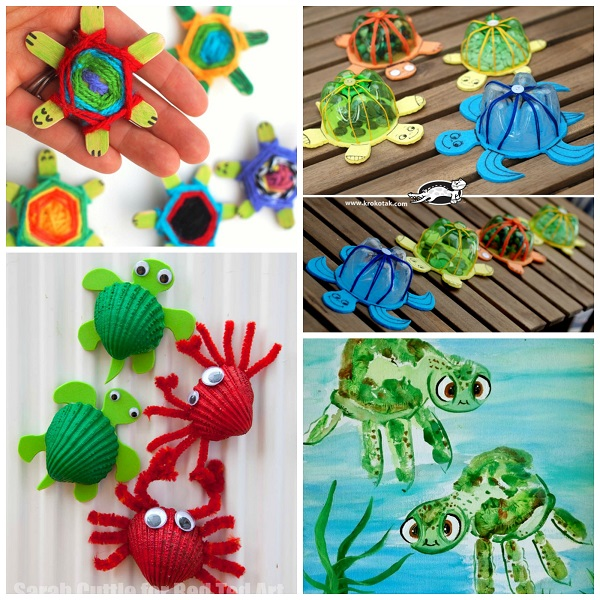 Turtle Crafts For Kids To Make Crafty Morning