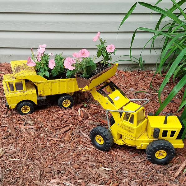 metal-truck-planters-for-kids