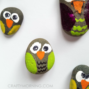 Rock Owls (Craft for Kids)