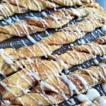 Crescent Cinnamon Roll Twists