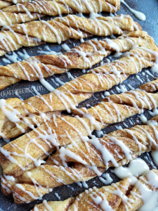 Crescent Cinnamon Roll Twists