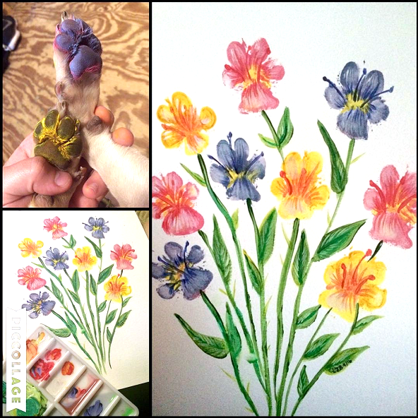 paw-print-dog-flower-craft-to-make