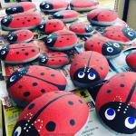 Stone Ladybugs (Garden Craft)