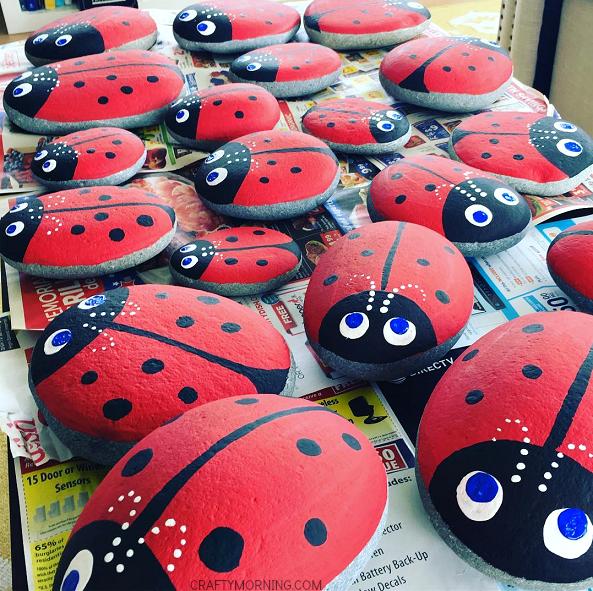 Easy Preschool Ladybug Crafts