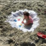 Shower Curtain Beach Hack for Kids