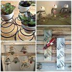 Repurposed Bed Spring Craft Ideas
