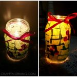 Christmas Jar Luminaries