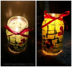 Christmas Jar Luminaries