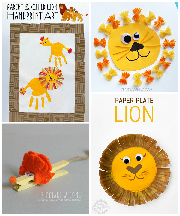 Animal Themed Crafts For Toddlers