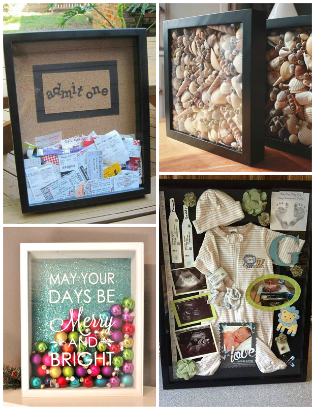 Cutest Shadow Box Ideas To Make Crafty Morning