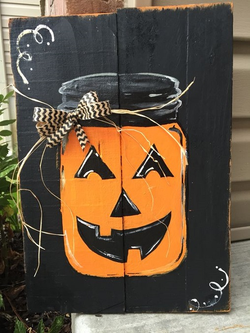 fall-halloween-pallet-pumpkin-mason-jar-sign
