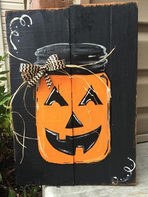 fall-halloween-pallet-pumpkin-mason-jar-sign