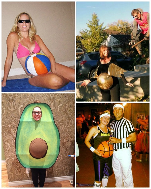 funny-pregnant-halloween-costume-ideas  sc 1 st  Crafty Morning : best pregnancy costumes  - Germanpascual.Com