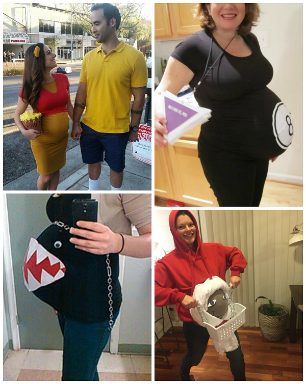 Halloween Costume Ideas For Pregnant Ladies.Clever Pregnant Halloween Costume Ideas Crafty Morning