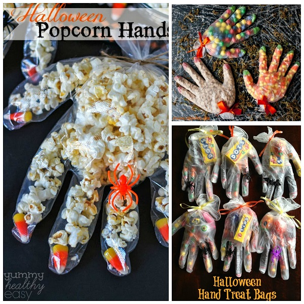 Halloween Glove Treat Ideas Crafty Morning