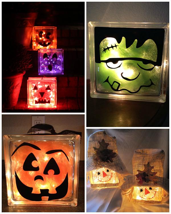 halloween-fall-glass-block-craft-ideas-