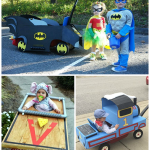 Kids Halloween Costumes on Wheels (Wagon Ideas)