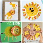 Lion Crafts for Kids to Make