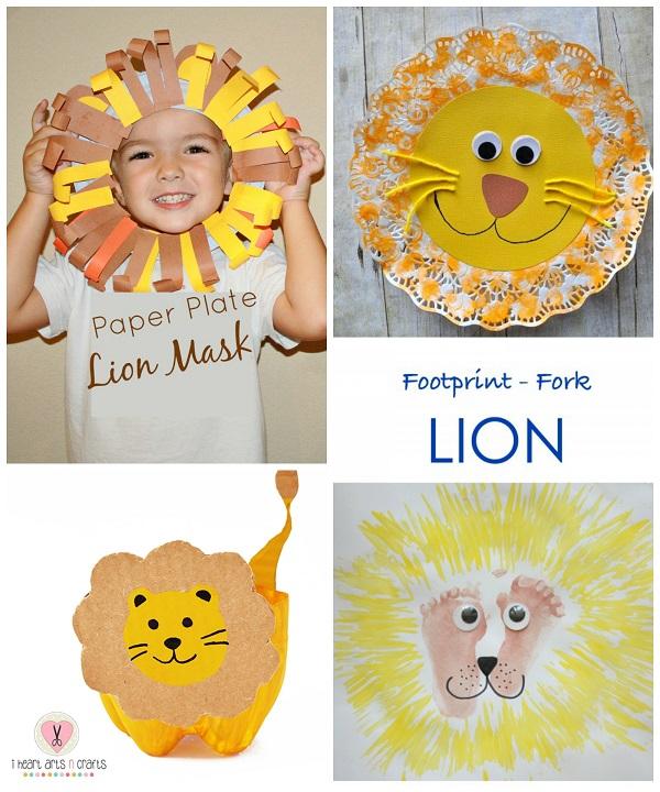 Lion Crafts For Kids To Make Crafty Morning
