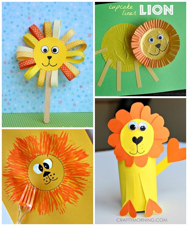 Lion Crafts for Kids to Make - Crafty Morning