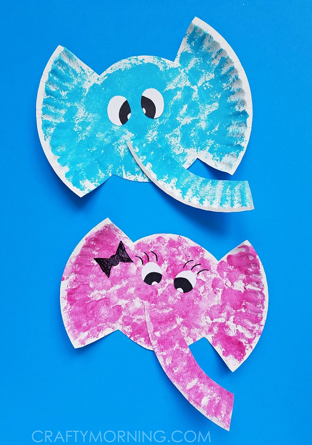 Preschool Circus Elephant Craft