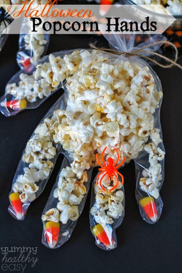 Halloween Glove Treat Ideas - Crafty Morning