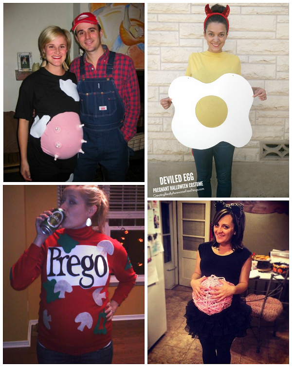 Halloween Costumes For Family Of 3 And Pregnant.Clever Pregnant Halloween Costume Ideas Crafty Morning
