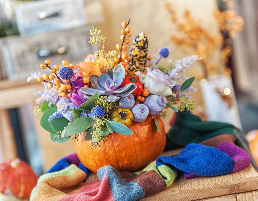 Make Pumpkin Vases Crafty Morning