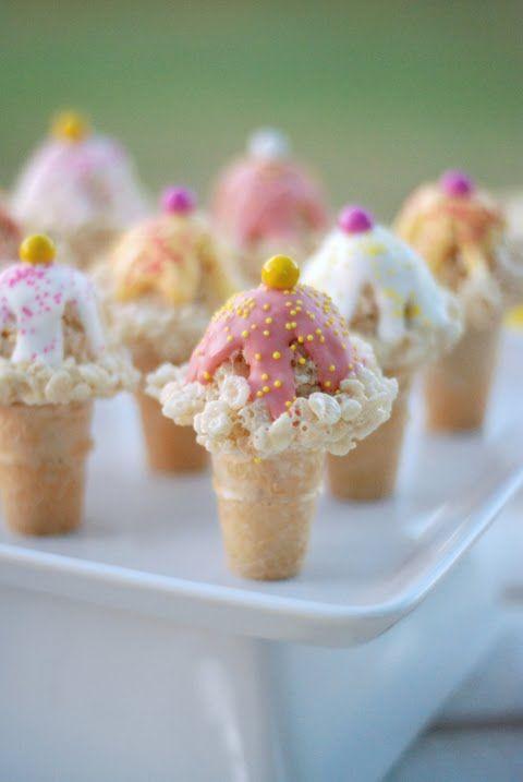 rice-krispie-ice-cream-cone-treats