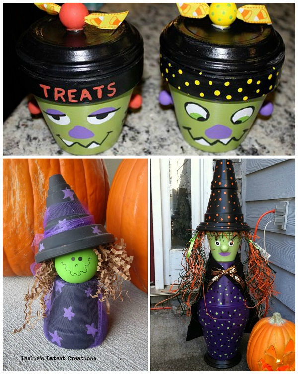 terracotta pot halloween crafts