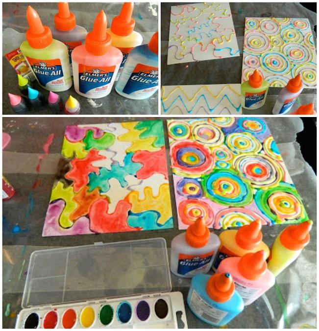 watercolor-glue-bottle-art-for-kids