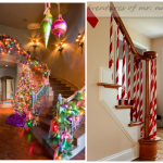Fun Ways to Decorate Stairs for Christmas