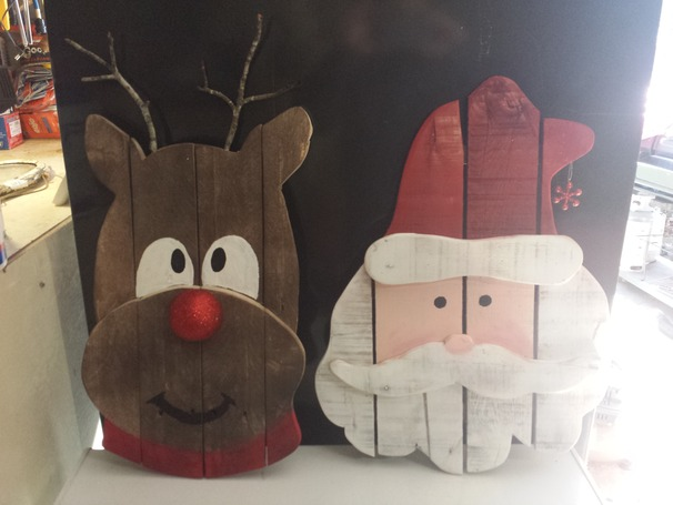 Most creative christmas decorations crafty morning for Deco noel exterieur fabriquer