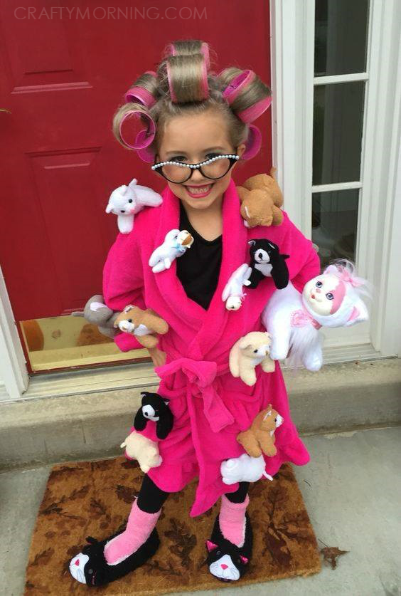 Crazy cat lady halloween costume crafty morning for Children s halloween costume ideas