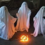 Halloween Outdoor Ghost Decorations
