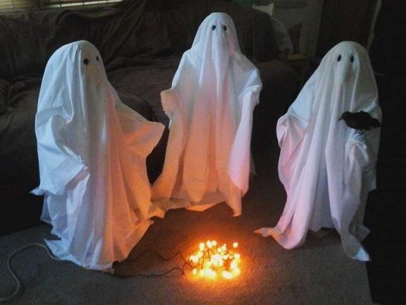 halloween ghost outdoor decorations - passeiorama
