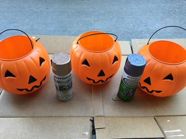 Plastic Pumpkin Mum Planters Crafty Morning