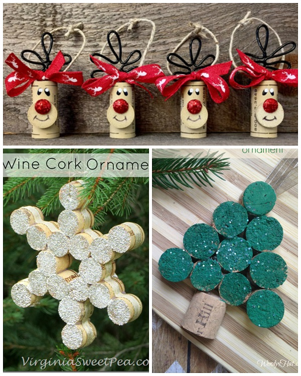 christmas holiday craft ideas wine cork craft ideas crafty morning 3628